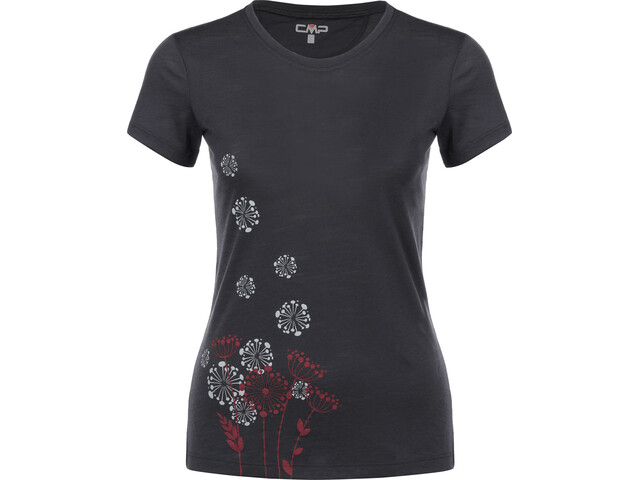 CMP Campagnolo T-Shirt Donna, antracite